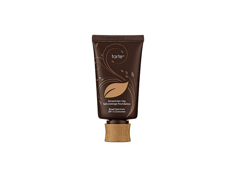 Tarte Amazonian Clay 12-Hour Full Coverage Foundation, SPF 15, Light Neutral, 1.7 fl oz