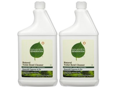 Seventh Generation Toilet Bowl Natural Cleaner, Emerald Cypress and Fir, 32 fl oz