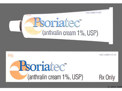 Psoriatec Cream 1% (RX) 50 Grams, Sirius Laboratories