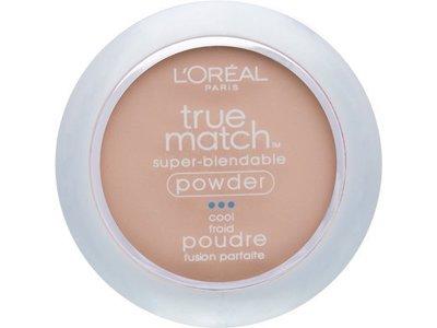 L'Oreal Paris True Match Super-Blendable Powder, Natural Ivory, 0.33 Ounce - Image 1