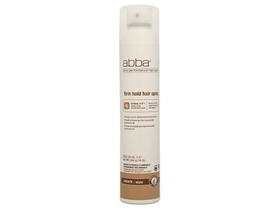 Abba Firm Hold Hair Spray, 10 Ounce - Image 1