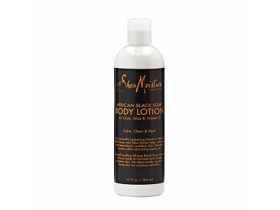 SheaMoisture Organic African Black Soap Body Lotion, 13.6 fl oz