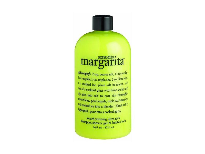 Philosophy Senorita Margarita Shampoo, Shower Gel, Bubble Bath, 16 Ounces