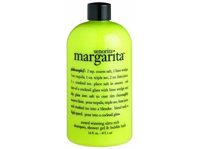 Philosophy Senorita Margarita Shampoo, Shower Gel, Bubble Bath, 16 Ounces