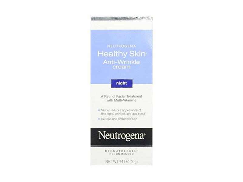 Neutrogena Healthy Skin Anti-Wrinkle Night Cream, 1.4 oz.