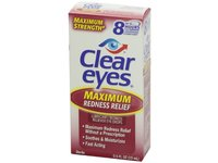 Clear Eyes Maximum Strength Redness Relief, .5 Fluid Ounce - Image 5