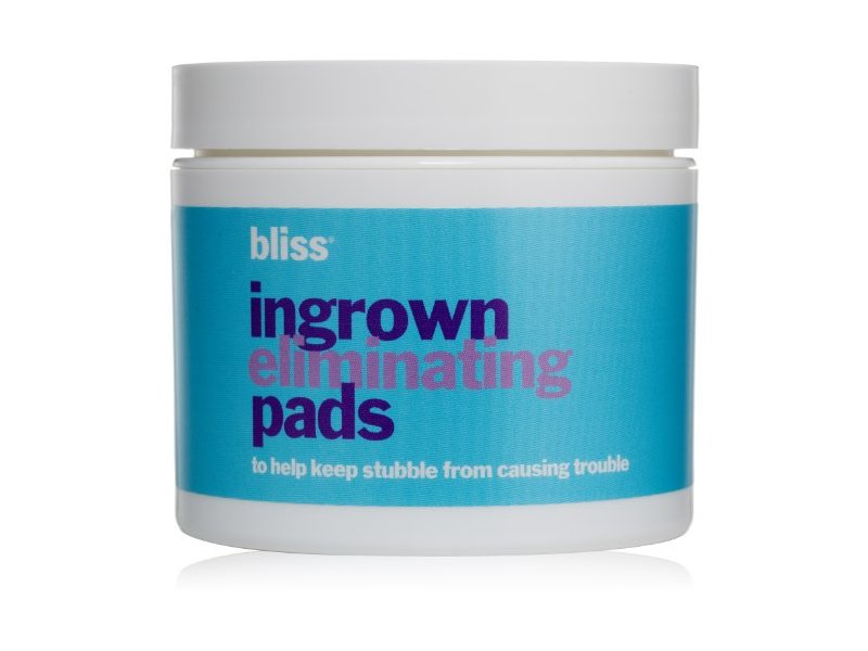 bliss Ingrown Eliminating Pads, 50 Count
