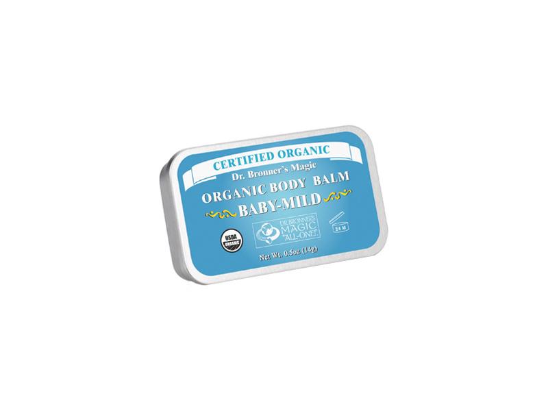 Dr. Bronner's Magic Organic Body Balm Baby-Mild, 0.5 oz