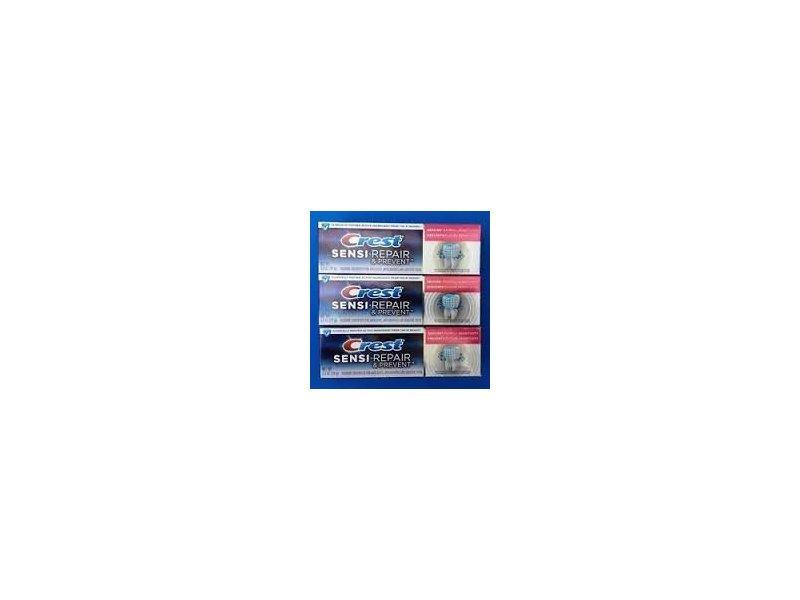 Crest Sensi-Repair & Prevent™ Toothpaste, Smooth Mint,3.5 oz
