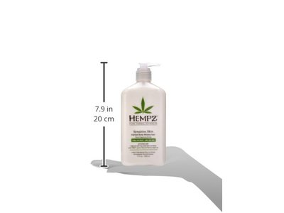 Hempz Sensitive Skin Herbal Body Moisturizer, Off White, 17 Fluid Ounce - Image 3