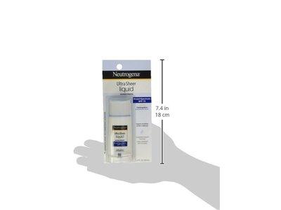 Neutrogena Ultra Sheer Sunblock Liquid, SPF 70, 1.4 fl oz - Image 6