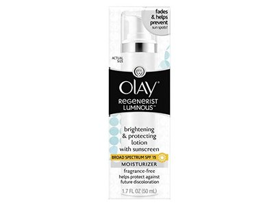 Olay Regenerist Luminous Brightening and Protecting Lotion with SPF 15 Fragrance-Free, 1.7 Fluid Ounce - Image 9