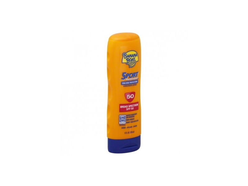 Banana Boat Sport Performance Lotion Sunscreen, SPF 50, 8 fl oz