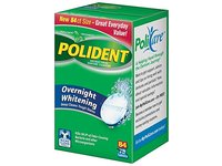 Polident Overnight Denture Cleanser, 84 Count - Image 2