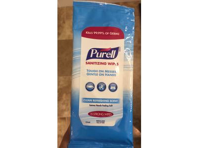 Purell Hand Sanitizer Wipes, 15 count - Image 3