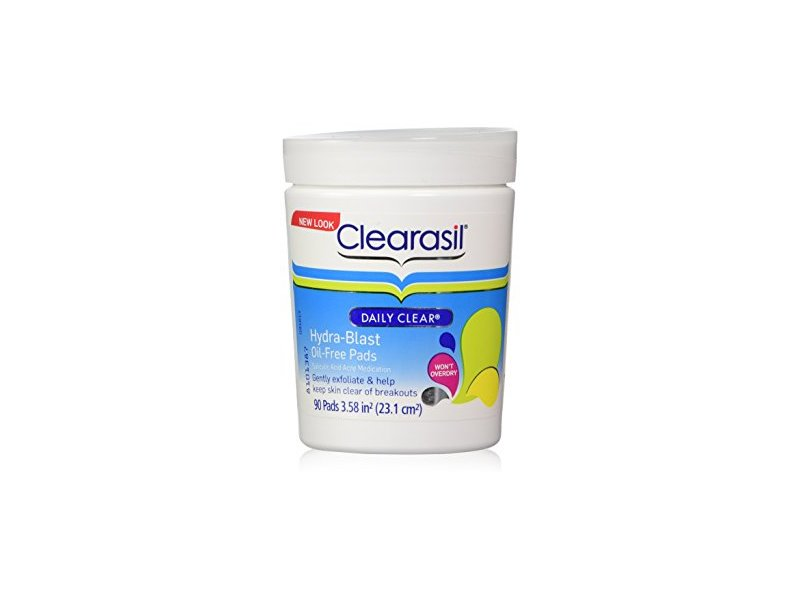 Clearasil Daily Clear Hydra-Blast Oil-Free Pad, 90 pads