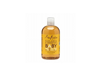 SheaMoisture Organic Raw Shea Chamomile & Argan Oil Baby Head-to-Toe Wash & Shampoo - 12 Oz ( Multi-Pack)