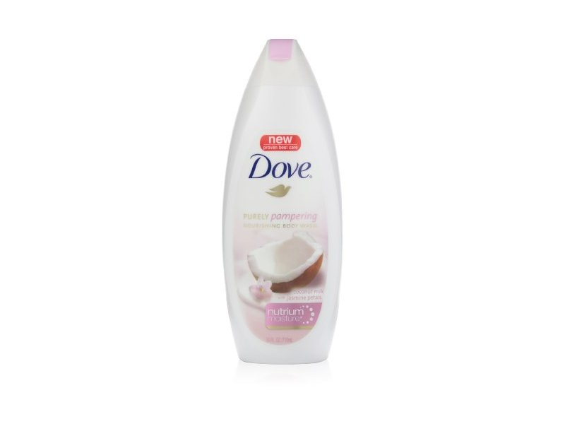 Dove Purely Pampering Nourishing Body Wash Coconut Milk With Jasmine Petals 24 Ounce Pack Of 2 Ingredients And Reviews
