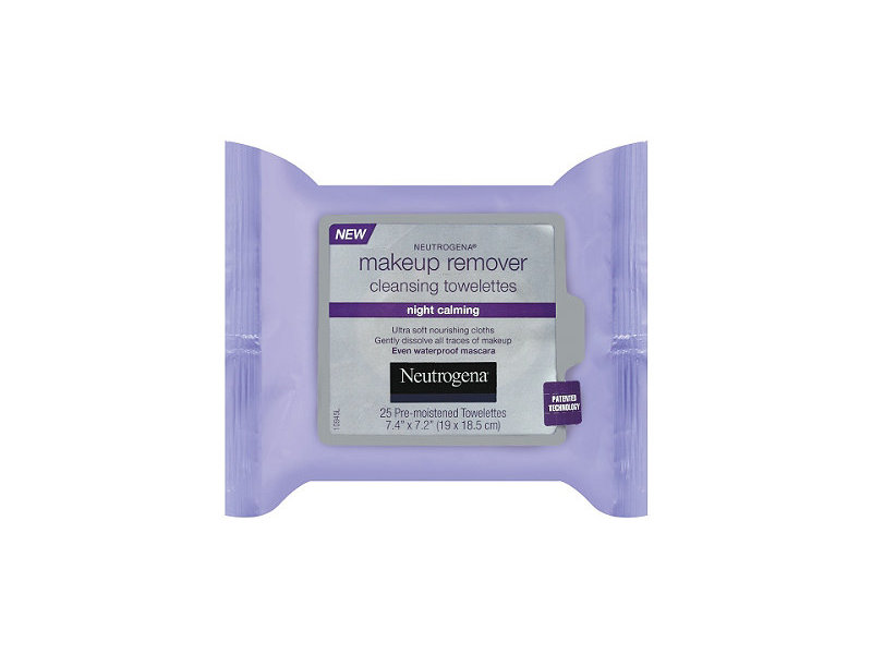 Neutrogena Makeup Remover Cleansing Towelettes Night Calming, Johnson & Johnson