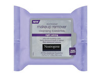 Neutrogena Makeup Remover Cleansing Towelettes Night Calming, Johnson & Johnson - Image 2