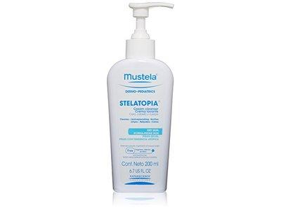 Mustela Stelatopia Cream Cleanser, 6.7 US fl oz