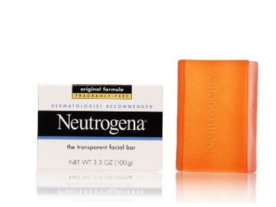 Neutrogena Transparent Facial Bar, Original Formula Fragrance Free, 3.5 Ounce