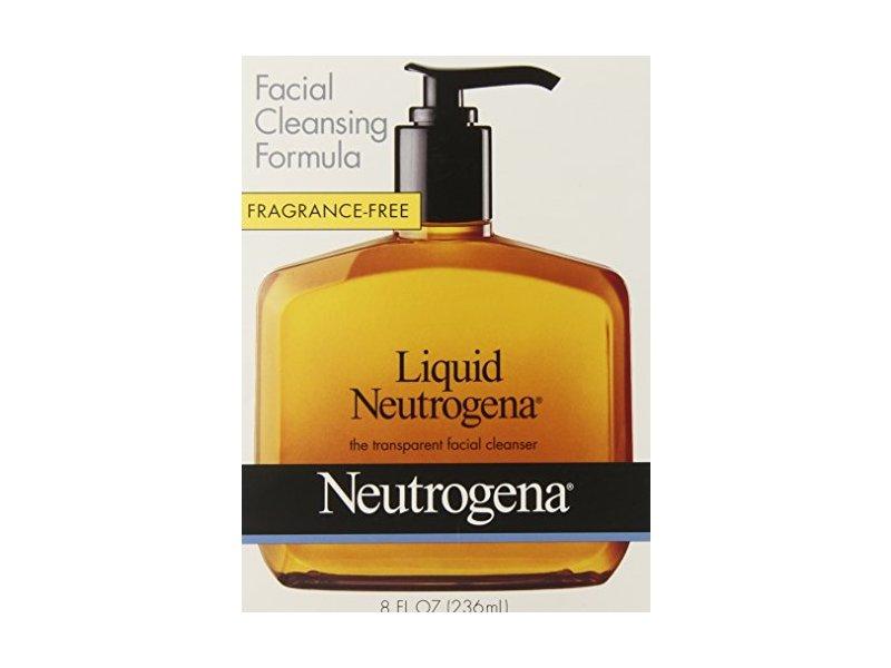 Neutrogena Fragrance Free Liquid, Facial Cleansing Formula