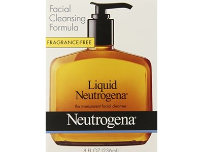 Neutrogena Fragrance Free Liquid, Facial Cleansing Formula - Image 1