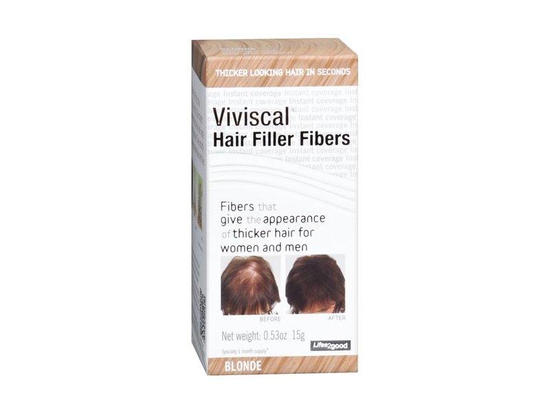 Viviscal Hair Filler Fibers, Blonde