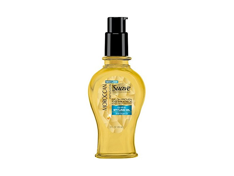 Suave Professionals Styling Oil, Moroccan Infusion 3 oz