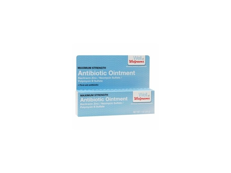 Walgreens First Aid Antibiotic Ointment, 1 oz
