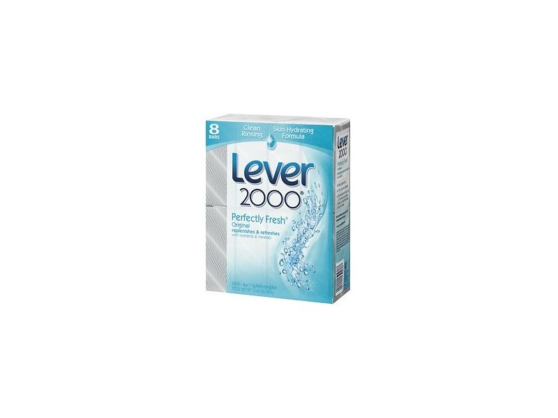 Lever 2000 Refreshing Bars - 8 x 4 Oz, 6 Pack