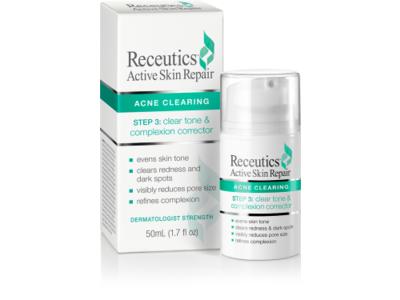 Receutics Active Skin Repair: Step 3: Clear Tone and Complexion Corrector, 1.7 fluid oz