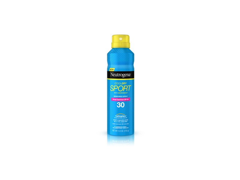 Neutrogena CoolDry Sport Sunscreen, Broad Spectrum SPF 30, 5.5 oz