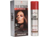 Black Opal Gray Retouch Root Concealer Spray, Medium/Light Brown, 2 oz - Image 2