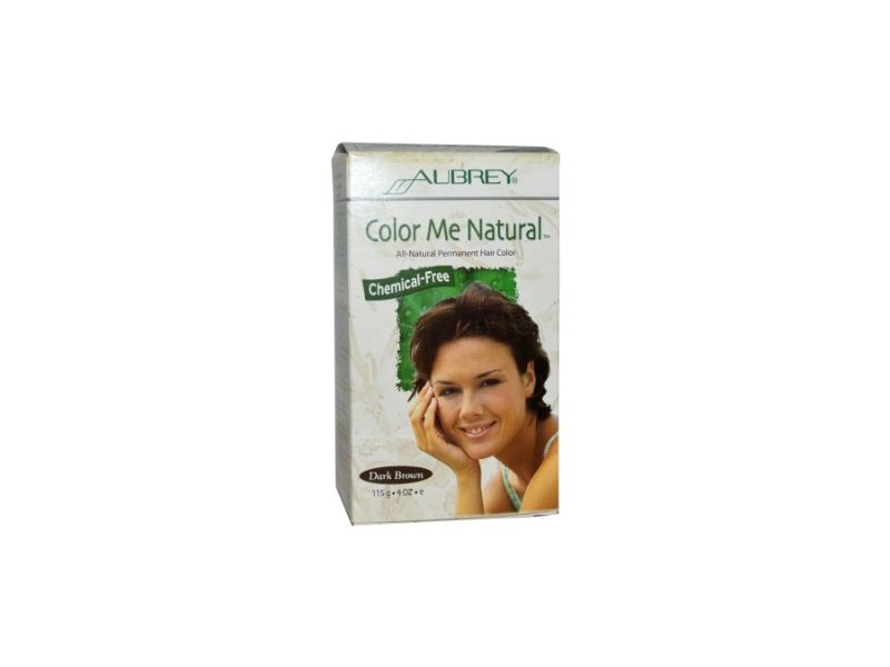 Aubrey Organics Color Me Natural - Dark Brown