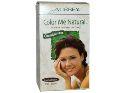 Aubrey Organics Color Me Natural - Dark Brown - Image 1
