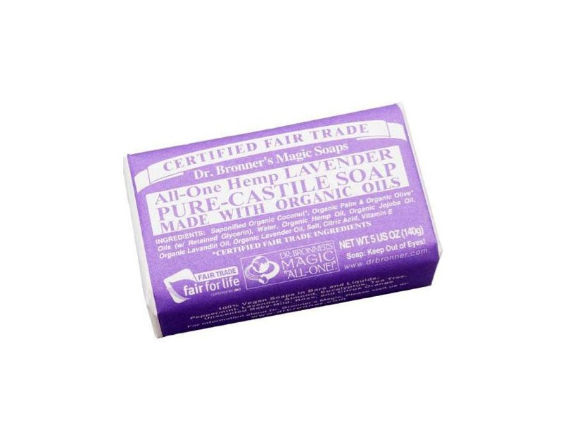 Dr. Bronner's Magic Soaps All-One Hemp Lavender Pure-Castile Soap, 5 oz