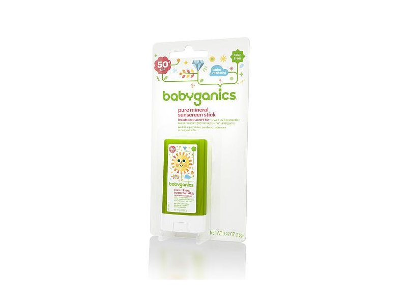BabyGanics Pure Mineral Sunscreen Stick SPF 50+