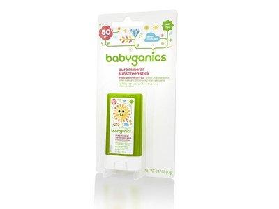 BabyGanics Pure Mineral Sunscreen Stick SPF 50+