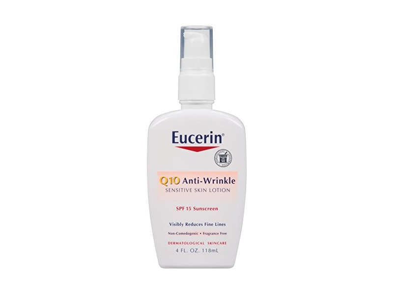 Eucerin Q10 Anti-Wrinkle Sensitive Skin Lotion SPF 15