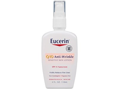 Eucerin Q10 Anti-Wrinkle Sensitive Skin Lotion SPF 15 - Image 1
