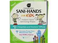 Sani-Hands Kids Instant Hand Sanitizer Wipes, 24 Count - Image 3
