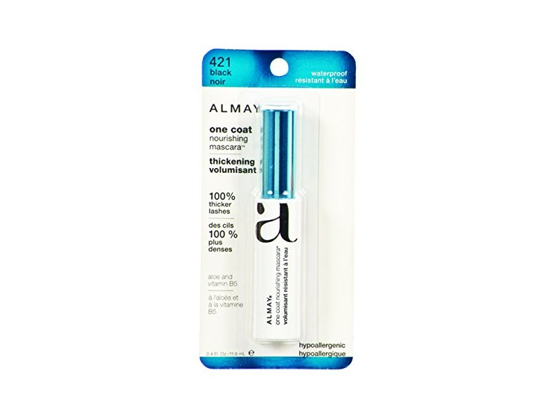 Almay One Coat Nourishing Thickening Waterproof Mascara, Revlon