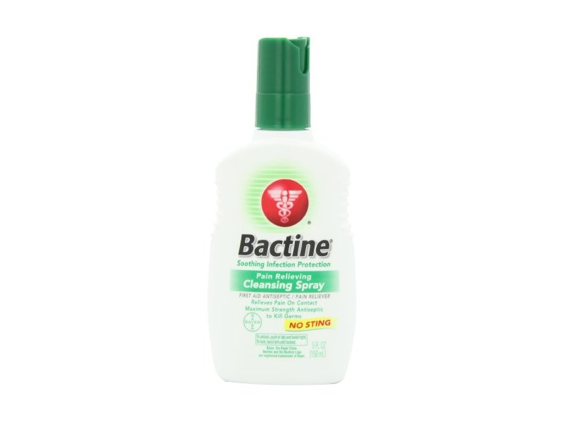 Bactine Original First Aid Spray, 5-Ounce Bottles (Pack of 3)