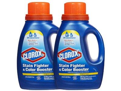 Clorox 2 Stain Fighter & Color Booster, Original Scent, 33 fl oz (2 pack)