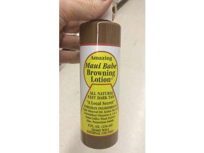 Maui Babe Browning Lotion, 8 fl oz - Image 3