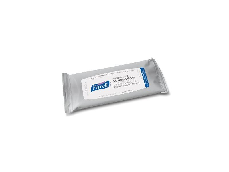 Purell Personal Pack Sanitizing Wipes, Johnson & Johnson