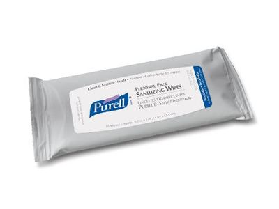 Purell Personal Pack Sanitizing Wipes, Johnson & Johnson - Image 1