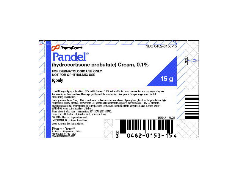 Pandel Topical Cream 0.1% (RX) 15 Grams, Sandoz